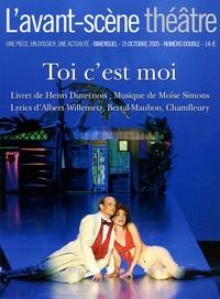 Henri Duvernois - L'Avant-scène théâtre N° 1191-1192, Octobr : Toi c'est moi.