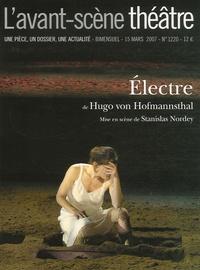 Hugo von Hofmannsthal - L'Avant-scène théâtre N° 1220, 15 mars 200 : Electre.