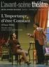 Oscar Wilde - L'Avant-scène théâtre N° hors série Septem : L'Importance d'être Constant.