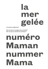 Alban Lefranc - La mer gelée N° Maman : .