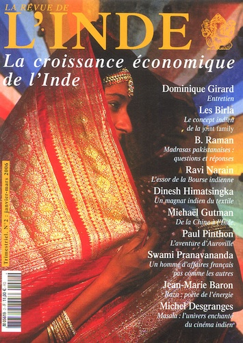 Dominique Girard et  Swami Pranavananda - La Revue de l'Inde N° 2, Janvier-févrie : La croissance économique de l'Inde.