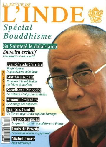Claude Arpi et François Gautier - La Revue de l'Inde N° 4, Juillet-septem : Spécial Bouddhisme.
