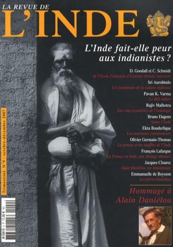 François Gautier - La Revue de l'Inde N° 9, Octobre-décemb : L'Inde fait-elle peur aux indianistes ?.