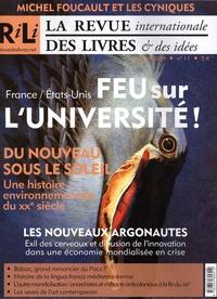 Yves Citton et Jean-Baptiste Meyer - La revue internationale des livres & des idées N° 11, Mai-juin 2009 : Feu sur l'université ! - France/Etats-Unis.