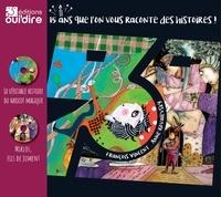 François Vincent et Anne Kovalevsky - La véritable histoire du haricot magique ; Miklos, fils de jument. 2 CD audio