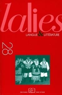 Christophe Cusset et Franck Floricic - Lalies N° 28/2008 : .
