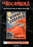 Daniel Compère et Arnaud Huftier - Le Rocambole N° 45, Hiver 2008 : Le roman policier belge.