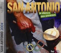 Jérôme Fonlupt et Christophe Véricel - Le silence des anneaux - Les nouvelles aventures de San-Antonio, CD audio MP3.
