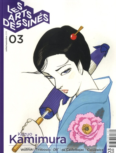 Frédéric Bosser - Les Arts dessinés N° 3, juillet-septem : Kazuo Kamimura.