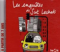 Patrick Bousquet et Isabelle Zammit - Les enquêtes de Scot Lechat - CD audio.