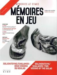 Philippe Mesnard - Mémoires en jeu N° 1, septembre 2016 : .