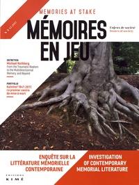 Aurélie Barjonet et Luba Jurgenson - Mémoires en jeu N° 5, décembre 2017 : Enquête sur la littérature mémorielle contemporaine.