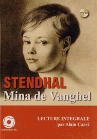 Stendhal - Mina de Vanghel. 1 CD audio MP3