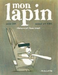 Etienne Lécroart - Mon Lapin N° 4, janvier 2014 : .