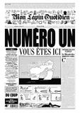 Jean-Yves Duhoo et  Killoffer - Mon Lapin Quotidien N° 1, Février 2017 : .