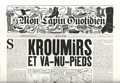 Patrice Killoffer et Jean-Yves Duhoo - Mon Lapin Quotidien N° 10, mai 2019 : .