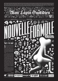 Jean-Yves Duhoo et  Killoffer - Mon Lapin Quotidien N° 3, août 2017 : Nouvelle formule.