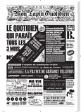 Jean-Yves Duhoo et  Killoffer - Mon Lapin Quotidien N° 4, novembre 2017 : .