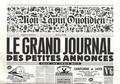 Jean-Yves Duhoo et  Killoffer - Mon Lapin Quotidien N° 6, mai 2018 : .