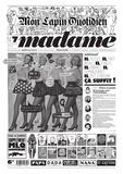 Jean-Yves Duhoo et  Killoffer - Mon Lapin Quotidien N° 7, automne-hiver  : Madame.