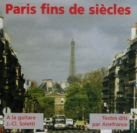 Anefrance - Paris fins de siècles. 1 CD audio