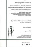 Gerhard Heinzmann - Philosophia Scientiae Volume 8 N° 1/2004 : Le problème de l'incommensurabilité, un demi-siècle après.