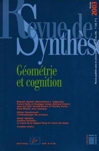 Giuseppe Longo et Rossana Tazzioli - Revue de synthèse N° 124/2003 : Géométrie et cognition.