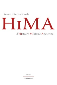 Giusto Traina - Revue internationale d'histoire militaire ancienne N° 2/2015 : .