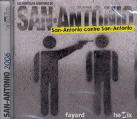 Patrice Dard - San-Antonio contre San-antonio - CD audio MP3.