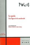 Martine Leibovici et Eleni Varikas - Tumultes N° 21-22 Novembre 20 : Le paria - Une figure de la modernité.