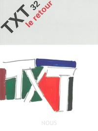 Jacques Barbaut et Jean-Pierre Bobillot - TXT N° 2 : Le retour.