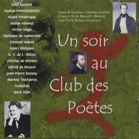 Diane de Segonsac - Un soir au Club des Poètes. 1 CD audio