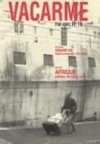 Collectif - Vacarme N° 16 Eté 2001 : .