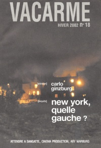 Collectif - Vacarme N° 18 Hiver 2002 : .