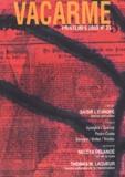 Collectif - Vacarme N° 23, Printemps 200 : .