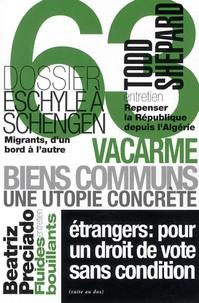 Dominique Dupart et Philippe Mangeot - Vacarme N° 63, avril-juin 20 : .