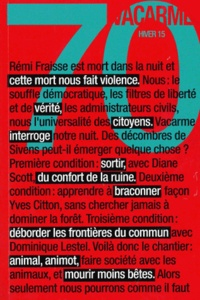 Valentin Chémery et Thibault Henneton - Vacarme N° 70, Hiver 2015 : .