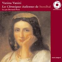 Stendhal - Vanina Vanini. 1 CD audio