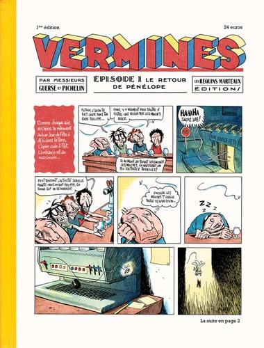 Marc Pichelin et Guillaume Guerse - Vermines magazine N° 1 : .
