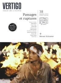 Fabienne Duszynski - Vertigo N° 38, Automne 2010 : Passages et ruptures. 1 DVD