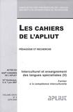 Mireille Hardy - Les Cahiers de l'APLIUT Volume 28 N° 2, Juin : Interculturel et enseignement des langues spécialisées - Volume 2, Former à la compétence interculturelle.