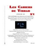 Collectif - Les Cahiers de Tinbad n°1.