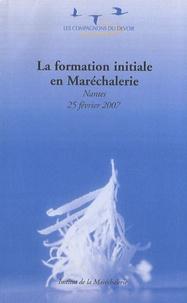 Les Compagnons du Devoir - La formation initiale en Maréchalerie.