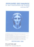 EIP - Annuaire des mairies et des institutions de France - CD-Rom.
