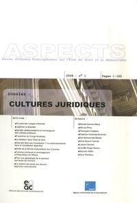 Mireille Delmas-Marty et Mónica Pinto - Aspects N° 1 : Cultures juridiques.