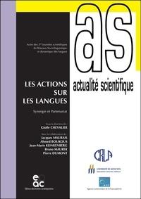 Gisèle Chevalier - Les actions sur les langues - Synergie et partenariat.