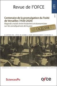 Collectif - Revue de l'OFCE N°171 - CENTENAIRE DE LA PROMULGATION DU TRAITÉ DE VERSAILLES (1920-2020).