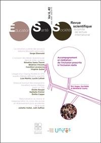 Eric Dugas et Zoé Rollin - Revue Education, Santé, Sociétés, Vol. 6, No. 2 - Accompagnement et médiation : de l'inclusion prescrite à l'inclusion réelle.