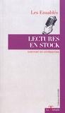 Les Ensablés - Lectures en stock.