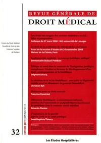 Sébastien Clement - Revue Générale de Droit Médical N° 32, Octobre 2009 : Les droits des usagers des secteurs sanitaire et social : bilan et perspectives.